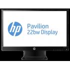 """Monitor HP Pavilion 22bw IPS de 21,5"""" com iluminação por LED (C4D29AA)"""