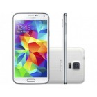 "Smartphone Samsung Galaxy S5 Duos Dual Chip 4G - Android 4.4 Câm. 16MP Tela 5.1"" Proc. Quad Core"